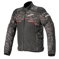 Alpinestars Hyper Drystar Jacket Camo Red Black