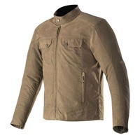 Alpinestars Giacca Ray Canvas V2 Marrone