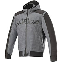 Sweat à Capuche Alpinestars Rhod Windstopper Asphalt