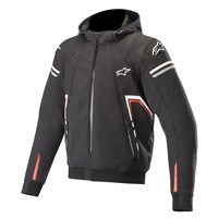 Alpinestars Sektor Tech Hoodie Jacket Black White Red