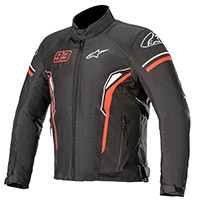 Alpinestars Sepang Waterproof Jacket Black Red