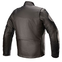 Alpinestars Sixty Three Leather Jacket Black
