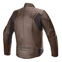 Giacca Pelle Alpinestars Sp-55 Marrone