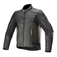 Alpinestars Sp-55 Leather Jacket Black
