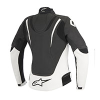 Alpinestars Stella Jaws Leather Jacket Bianco Donna