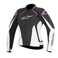 Alpinestars Stella Jaws Leather Jacket Donna