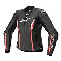 Alpinestars Stella Missile V2 Leather Jacket Pink Lady