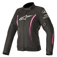 Alpinestars Stella Gunner V2 Waterproof Jacket Black Pink Lady