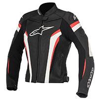 Alpinestars Stella Gp Plus R V2 Leather Jacket Red Lady