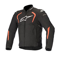 Alpinestars T-gp Pro V2 Jacket Black Fluo Red
