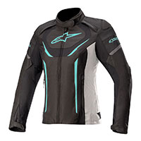 Alpinestars Stella T-jaws V3 Jacket Black Teal Lady