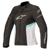 Alpinestars Stella T-kira Wp Jacket White Teal Lady