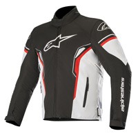 Alpinestars T-sp-1 Waterproof Jacket Black White Red