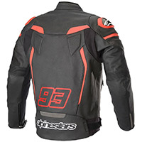 Alpinestars Twin Ring Leather Jacket Black Red