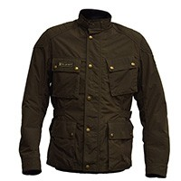 Belstaff Mcgee Motorcycle Jacket Military Green