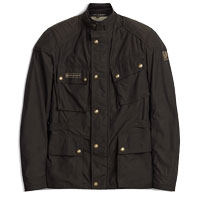 Belstaff Giacca Mcgee Motorcycle Marrone Scuro - 4