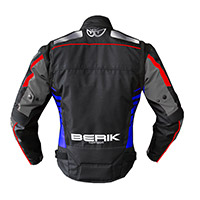 Giacca Berik Supersport Rosso Blu Nero