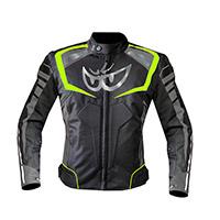 Berik Supersport Lady Jacket Black Yellow Fluo