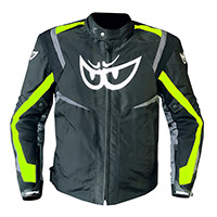 Chaqueta Berik Supersport Wp negro amarillo fluo gris