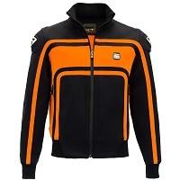 Blauer Giacca Easy Rider Nero Arancio