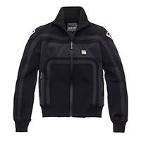Blauer Easy Rider Woman Jacket Black Anthracite