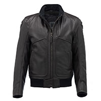 Blauer Thor 1.0 Leather Jacket Brown