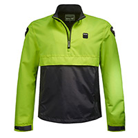 Blauer Spring Pull Man Jacket Yellow Fluo Blue