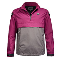 Blauer Spring Pull Woman Jacket Pink Grey