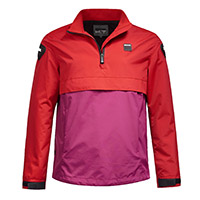 Blauer Spring Pull Woman Jacket Red Pink