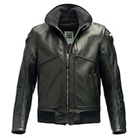 Blauer Thor Leather Jacket Black