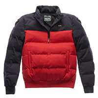 Blauer Winter Pull Bicolor Jacket Red Blue