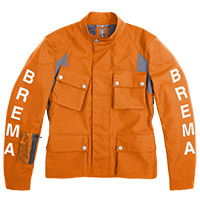Brema Silver Vase Advs Jacket Orange