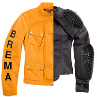 Brema Silver Vase Man Jacket Yellow
