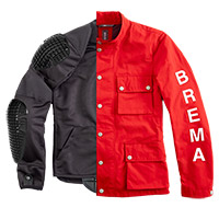Brema Silver Vase Man Jacket Red