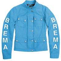 Brema Silver Vase Woman Jacket Light Blue