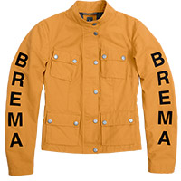 Brema Silver Vase Woman Jacket Yellow