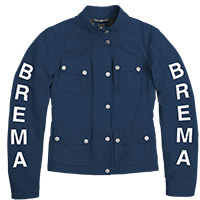 Brema Silver Vase Woman Jacket Navy
