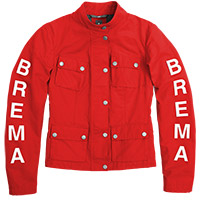 Brema Silver Vase Woman Jacket Red
