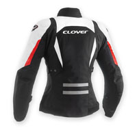 Clover Airblade-2 Lady Bianco-rosso Donna