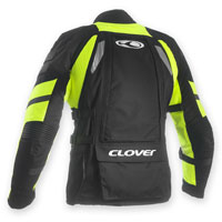 Clover Crossover-3 Wp Airbag Prepared Black-fluo Yellow