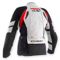 Clover Crossover-3 Wp Airbag Prepared Black-grey