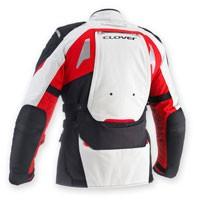 Clover Gts-3 Wp Predisposta Airbag Rosso-grigio