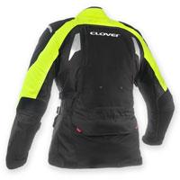 Clover Gts-3 Wp Predisposta Airbag Nero-giallo Fluo