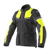 Giacca Clover Scout 3 Lady Nero Giallo Fluo Donna