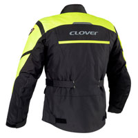 Clover Storm-2 Wp Lady Black-fluo Yellow