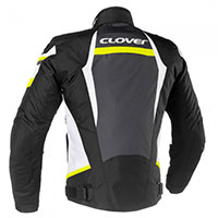 Clover Airblade 3 Jacket White Yellow