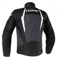 クローバー エアブレード 3 ジャケット ブラック ホワイト