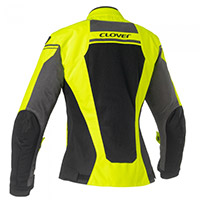Clover Airjet 4 Lady Jacket Yellow