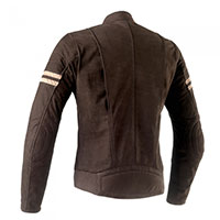 Clover Blackstone Leather Jacket Brown