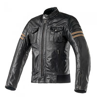 Clover Blackstone Leather Jacket Black